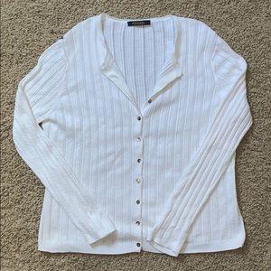 Brooks Brothers Sea Island Cotton Cardigan
